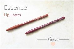 Essence - Lipliners In 11 In The Nude & 06 Satin Mauve | Review. - Beauty-Blush
