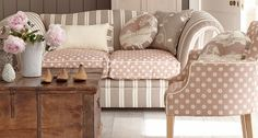 Welcome to the Vanessa Arbuthnott website. We're pleased to share our designer vision in fabrics for curtains, wallpapers, blinds, furniture, rugs & stair runners. Vanessa Arbuthnott, Kitchen Dresser, House By The Sea, Shabby, Comfy Sofa, Industrial Chic, Decoration, Decorative Accessories, Living Room Furniture