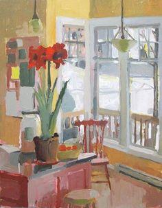 Carol Rabe  Red Amaryllis