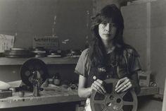 "Carol Jerrems. 'Jane Oehr, ""Womenvision"", Filmaker's Co-Op' 1973"