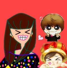 me and wonkyu shipper <3