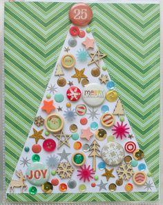 December Daily Days by at Christmas Mini Albums, Christmas Tree Art, Christmas Journal, Christmas Paper Crafts, Christmas Scrapbook, Christmas Minis, A Christmas Story, Handmade Christmas, Merry Christmas