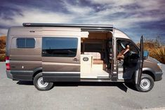 Sportsmobiles Camper Van Conversions Are Built For Long Distance Luxurious Travel Comfort You Can Actually