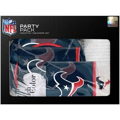 Houston Texans Gameday Party Pack
