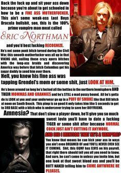 Profane, but love Eric.