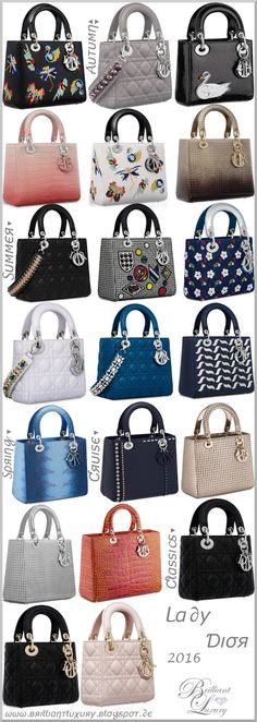 ♦Lady Dior 2016. bag, сумки модные брендовые, bags lovers, http://bags-lovers.livejournal