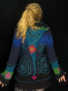 Katwise hoodie.  I too, am so in love with this sweater, the colors are awesome! <3