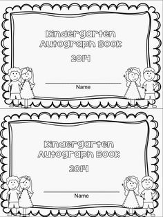 FREE!  Autograph book is a perfect activity for the end of the school year!