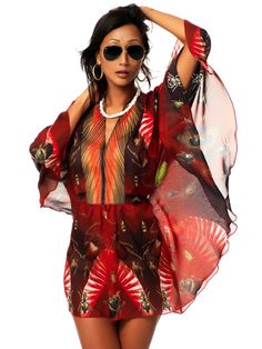 Beach Kaftan Sample Sale