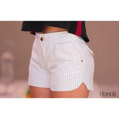 "1,566 curtidas, 36 comentários - Donali ♥♥♥ ~ ATACADO (@donalibrand) no Instagram: ""Shortinho maravida ❤️✨"" Cute Fall Outfits, Short Outfits, Girl Outfits, Fashion Outfits, Sexy Shorts, Cute Shorts, Gym Shorts Womens, Big Girl Fashion, Womens Fashion"