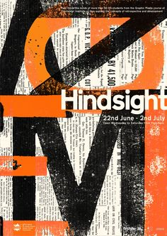 Hindsight  Exhibition poster