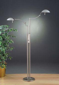 2 Light Pharmacy Floor Lamp