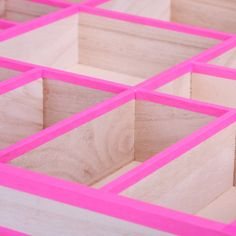 Organising drawers!  Work out sizes - trim  thin wood sides and fix with duct tape (not pink - lol)