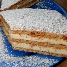 Hungarian Desserts, Hungarian Recipes, Cookie Recipes, Dessert Recipes, Delicious Desserts, Yummy Food, Sweet Cookies, Sweet And Salty, Coffee Cake