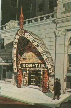 The (long gone) Kon Tiki, Portland by Stumptown Confidential, via Flickr.