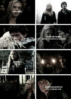 Bellamy and Clarke tumblr #The100 #Bellarke