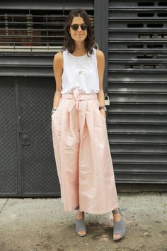 Office Apropos, Summer 2014 | Man Repeller--this reminds me of my of my favorite outfits from back when I was young, skinny and beautiful.