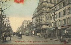 rue du Faubourg-Saint-Martin - Paris 10ème