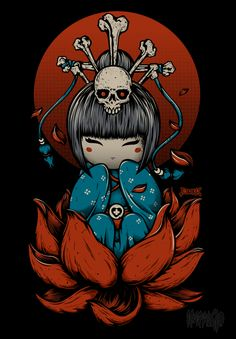 Japanese Doll by Impakto - my favorite tshirt design from beserk.com