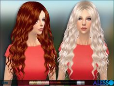 The Sims Resource: River hair by Alesso • Sims 4 Downloads