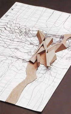 International relations university library model peter eisenman 1996 > drawing to model site plan < Architecture Drawings, Concept Architecture, School Architecture, Landscape Architecture, Architecture Design, Architecture Portfolio, Conceptual Model Architecture, Conceptual Drawing, Paper Architecture