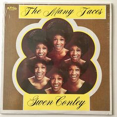 Gwen Conley The Many Faces LP Vinyl Record Album Meco