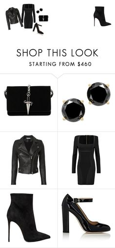 """Untitled #27"" by dadulla on Polyvore featuring Cesare Paciotti, IRO, Balmain, Le Silla and Alexander White"