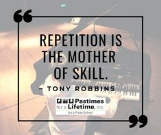 """Repetition is the mother of skill."" ~ Tony Robbins. #QuoteoftheDay #InspiringThoughts #TonyRobbins 🎹 Christina Ramos, Museum Collection, Creative Thinking, Tony Robbins, Quote Of The Day, Piano, Student, Thoughts, Learning"