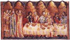 information about food and Christmas in the medieval times