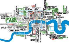 London, Great Britain London Map, London City, London Pubs, East London, Map Painting, Web Design, Exterior, London Photos, London Calling