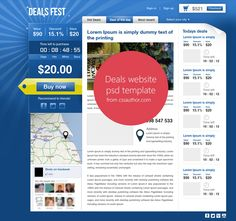 39 Best Free Web Design Template Psd Images Free Web Design