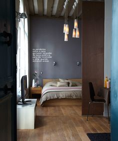 Casa de Valentina -DE MARIDO E MULHER Perfect bedroom colours