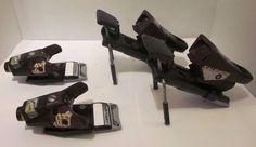 Salomon 877 Driver Multicontrol Ski Bindings Purple Gray Black #Salomon