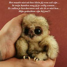 In veilige handen mag jij zijn...of jij nu groot of juist heel klein wil zijn!!!