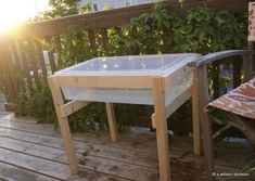 Image result for homemade water table for toddlers