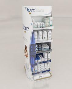 Exhibidor de Piso Dove Masterbrand on Behance