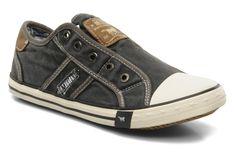 Coole Sneakers Marcus van Mustang shoes (Grijs) Sneakers van het merk Mustang shoes voor Dames . Uitgevoerd in Grijs gemaakt van .