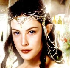 Arwen from Lord of the Rings. In my novel Elf Lord, Ilona's beauty, unsurpassed in a thousand years, hides a dark secret that only time will reveal. Liv Tyler, Aragorn, Arwen Lotr, Arwen Undomiel, Elfa, J. R. R. Tolkien, Elvish, Circlet, Portraits