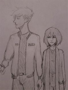 Attack on titán/Shingeki no kyojin  AoT/Snk| Jean kirstein/Kirschtein x Mikasa Ackerman JeanKasa/JeanMika | Anime Manga cute couple OTP