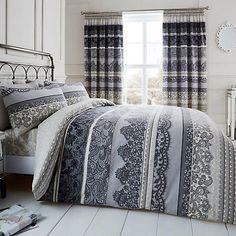 Reverie Duvet Set King Duvet Set, Duvet Sets, Duvet Cover Sets, Double Duvet Set, Grey Bedroom Decor, Bed Duvet Covers, Pillow Cases, Home And Garden, Furniture