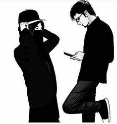 New wedding couple cartoon girls Ideas Wedding Couple Cartoon, Love Cartoon Couple, Cute Couple Art, Girl Cartoon, Perfect Couple, Cute Muslim Couples, Muslim Girls, Cute Couples, Muslim Tumblr