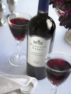 Downton Abbey Wine Cabernet:  When Mr. Carson decants a bottle of red wine for Lord and Lady Grantham, it is most assuredly made with one of the world's noblest grapes prized by the British aristocracy of the day: Cabernet Sauvignon.
