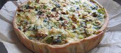 Quiche met vegetarische balletjes, champignons en prei | Lekker Tafelen