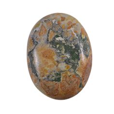 Silvesto India 19.5 CTS 100% Natural Poppy Jasper Oval Cabochon Loose Gemstone PG-101924