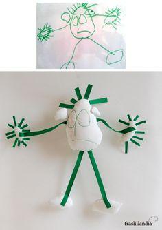 Personalización dibujos de niños | Fraskilandia