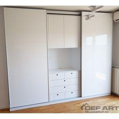 mobila dressing dulap Closet, Home Decor, Homemade Home Decor, Closets, Cabinet, Interior Design, Home Interiors, Decoration Home, Closet Built Ins