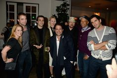 Robert with friends