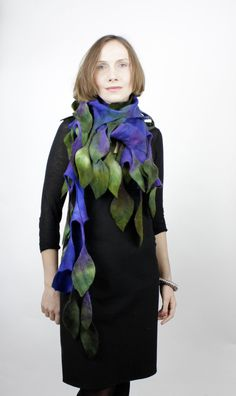 felted scarf - Kate Ramsey, Limerick