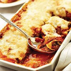 Woman's Day invites you to try Cannelloni recipe for the holiday. Experiment with our Easy Italian recipes that use ricotta cheese. Easy White Sauce, Pizza, Thing 1, 20 Min, Stick Of Butter, Pasta Dishes, Pasta Sauces, Casserole Dishes, Healthy Cooking