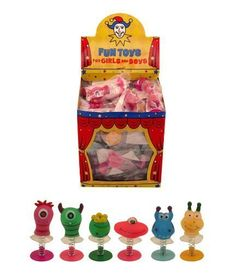 From 0.99 6 Assorted Jump Pop Up Monster Toys / Childrens Kids Party Bag Fillers Boys By Childrens Party Accessories